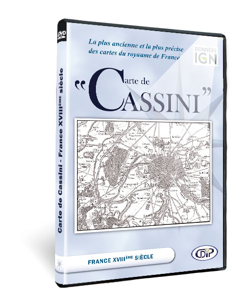 Coffret Carte de Cassini