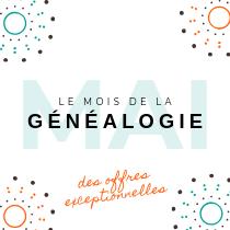 Soldes - Le mois de la généalogie