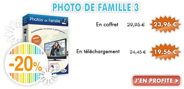 Jusqu'à -30% sur Photos de Famille 3