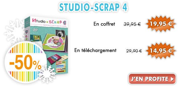 -50% sur Studio-Scrap