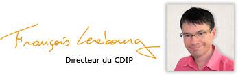 François Lerebourg, directeur du CDIP