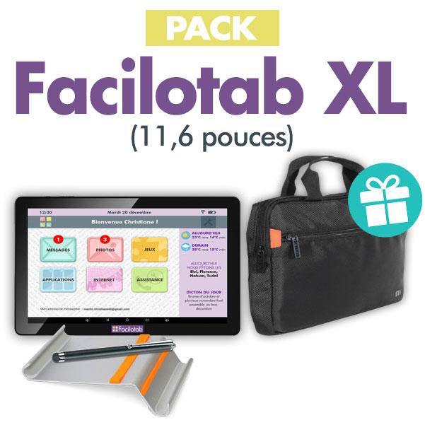 Profitez du pack Facilotab XL