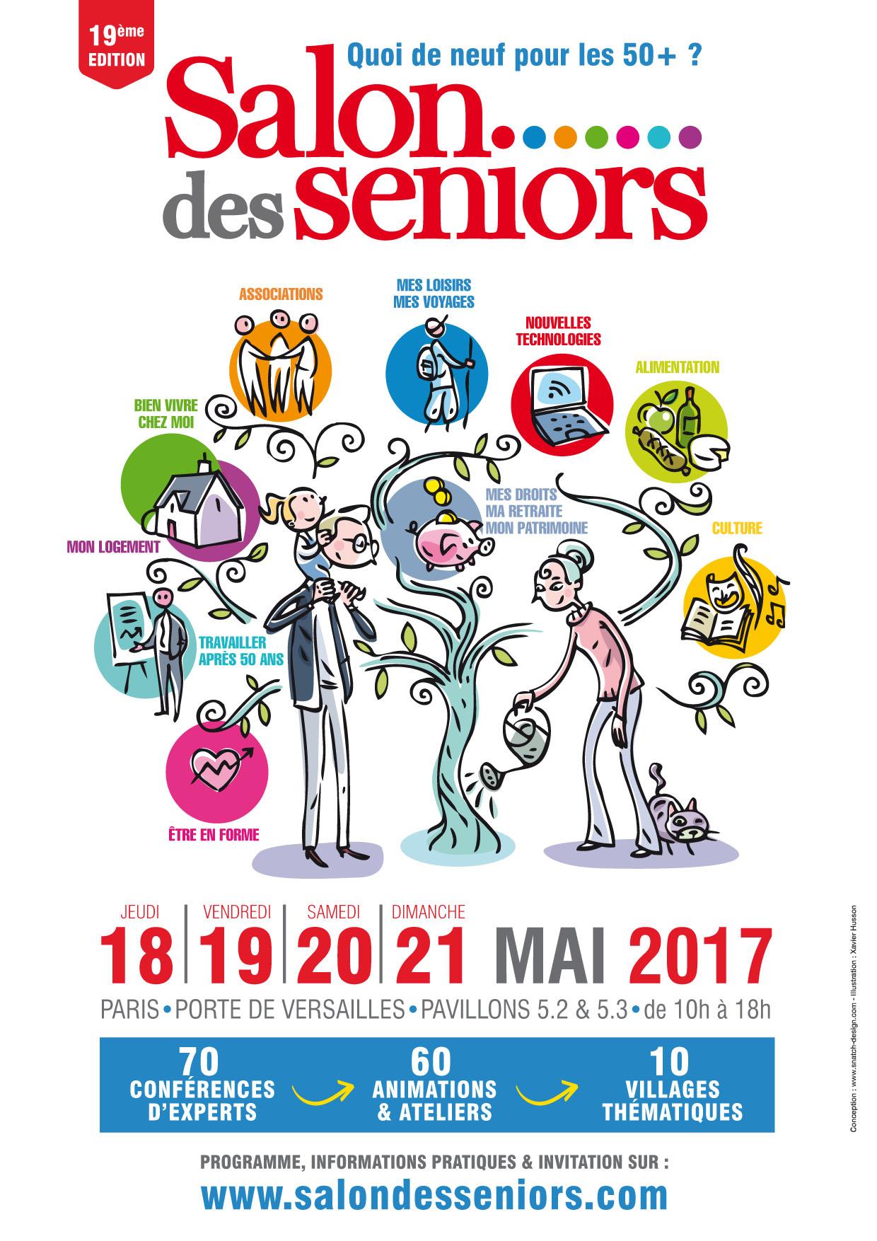 Rencontrez l 39 quipe du cdip aux salons des seniors antibes et paris blog du guide de - Salon des seniors paris invitation ...