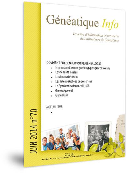 Généatique Info 70