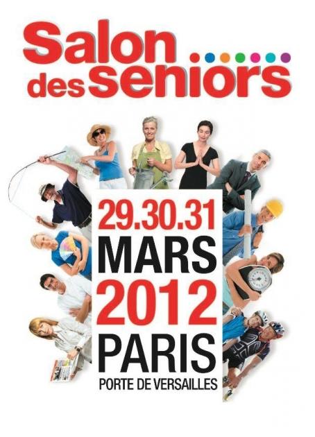 G n atique au salon des seniors paris du 29 au 31 mars blog de g n atique logiciel de - Salon des seniors paris invitation ...