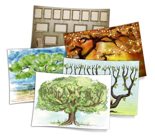 Modèles d'arbres généalogiques