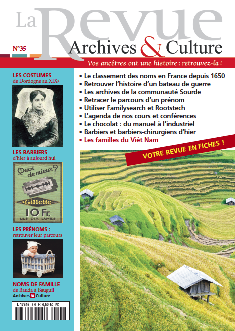 Archives et Culture n°35
