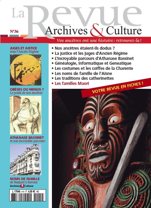 Archives et Culture n°36
