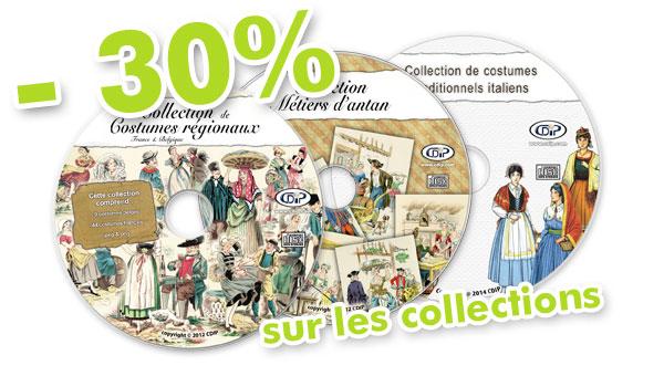 30% sur les collections