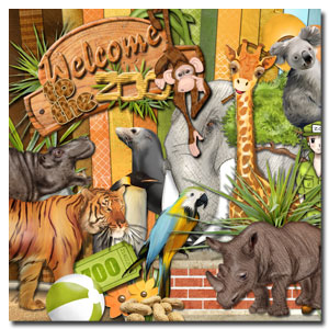 Learn more about the Digital kit Welcome to the Zoo