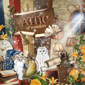 Digital kit Attic of wonders