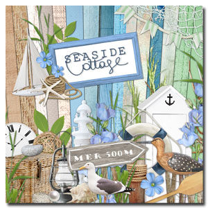 Seaside Cottage digital kit
