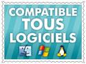 Compatible tous logiciels