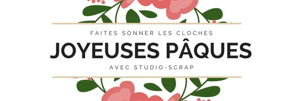 Studio-Scrap fête Pâques